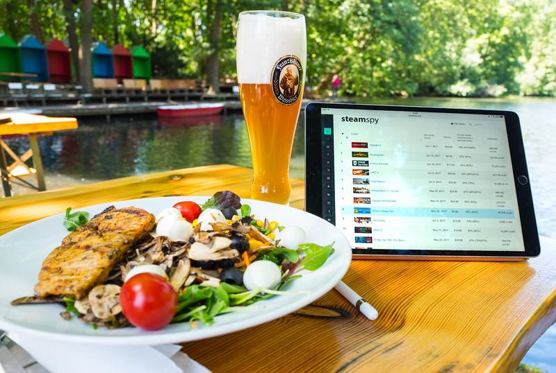 Lunch in Tiergarten