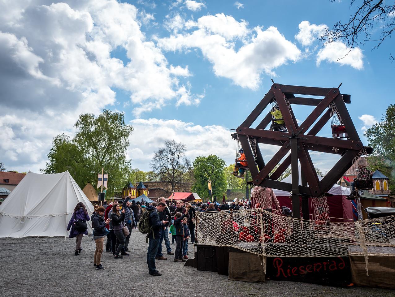 Medieval fair in Spandauer Zitadelle