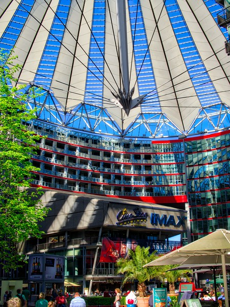 IMAX in Sony Center, Berlin