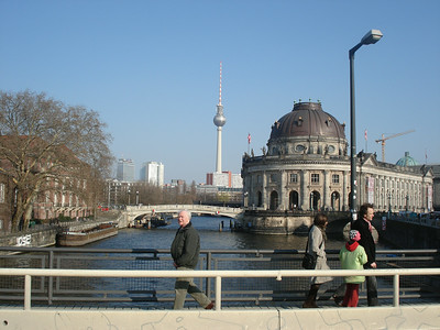 Spree, TV tower and museum island