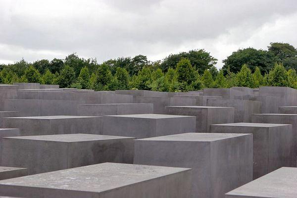 Holocaust Memorial near Brandenburg Gate