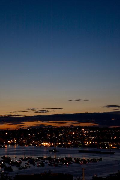 Sunset Over Lake Union