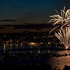 4th of July Firework Display at Lake Union