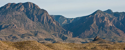 """The Window"".  This v-shaped gap in the Chisos Mountains is known as ""The Window""."
