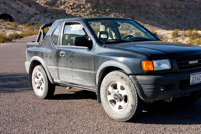Uncle's Isuzu Amigo did a great job on the primitive roads in the area.