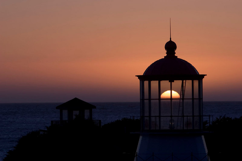 """Solar Lighthouse"", Shelter Cove, CA"