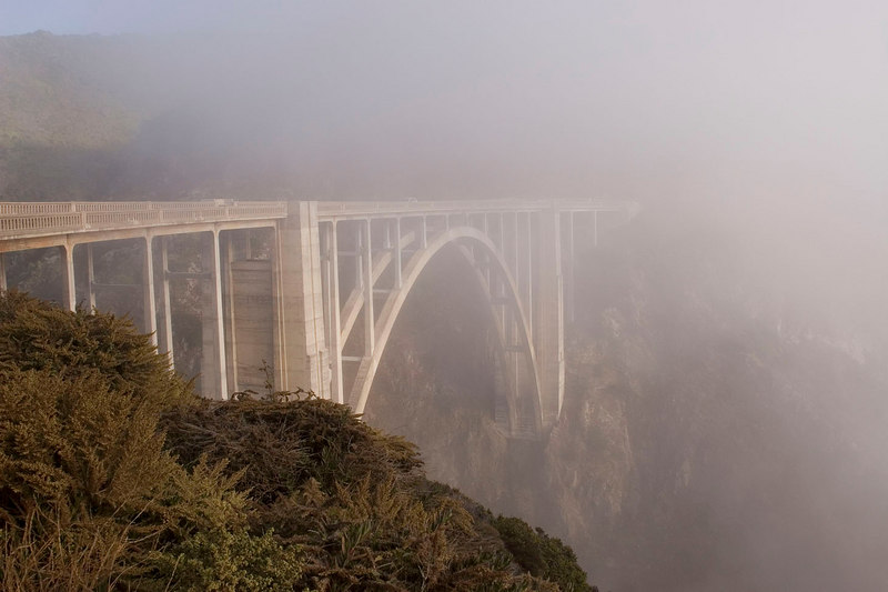 Bixby Bridge on Hwy. 1 south of Carmel.