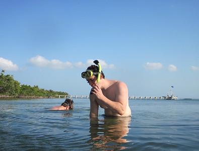 big torch key snorkeling