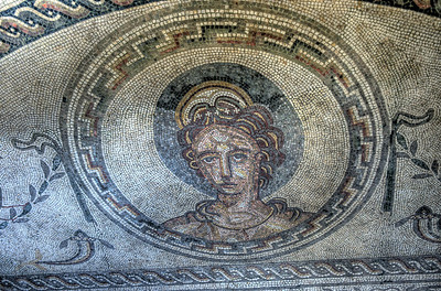 The Venus Mosaic at Bignor Roman Villa
