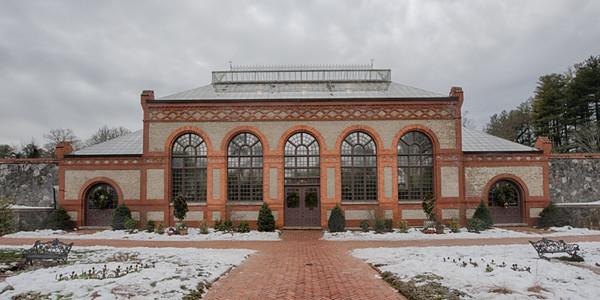 Conservatory in Garden