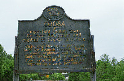 Coosa, oldest town in the USA