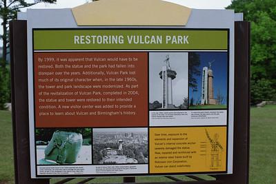 Restoring Vulcan Park