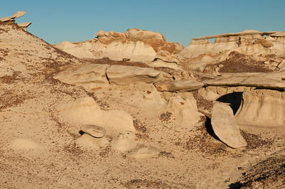 Bisti Badlands Wilderness Area, NW New Mexico