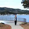 Connie at Pactola Reservoir in the Black Hills