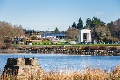 Peace Arch Border Crossing, US Side