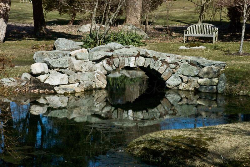 Stone Bridge, Oriental Garden