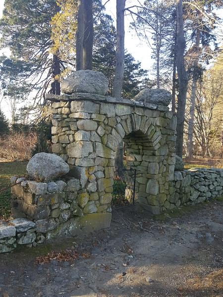 Arched Gateway near Sequoia.