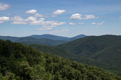 Two images from overlooks on the way to the Lodge.
