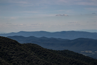 Another Skyline Drive overlook picture.