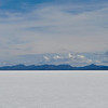 Finally, the Salar de Uyuni - over 4000 miles of nothing but SALT FLATS.  Looks like snow, tastes like salt.
