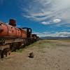 """Uyuni, the """"Train Cemetery""""..."""