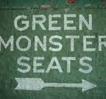 Green Monster Seats Directional Sign