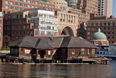 Roes Wharf in Boston