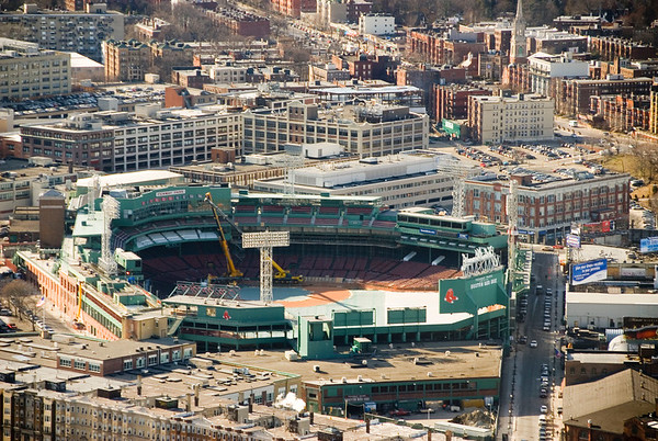 Fenway Park, Boston.
