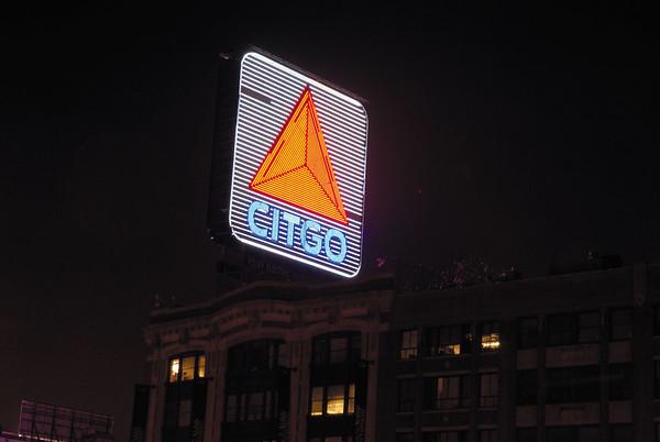 Citgo closeup