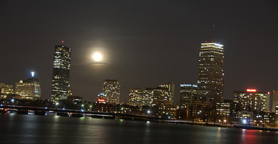Supermoon and the City