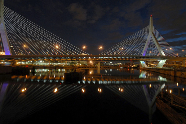 Wide view, Zakim Bridge