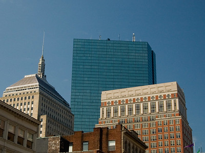 Diversity Of The Boston Skyline