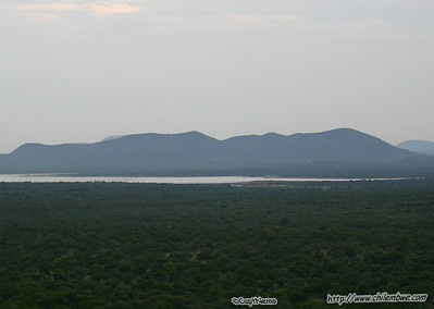 view from top of the world, at Mokolodi Game preserve, near Gaborone, Botswana