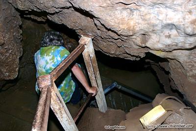 Sterkfontein cave.