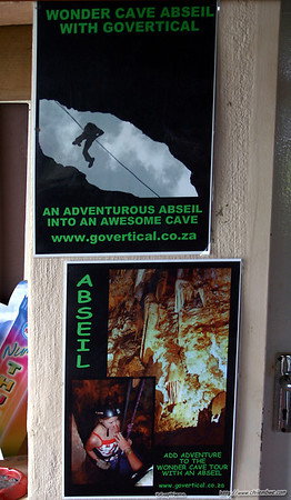 Add for the abseil into wonder cave