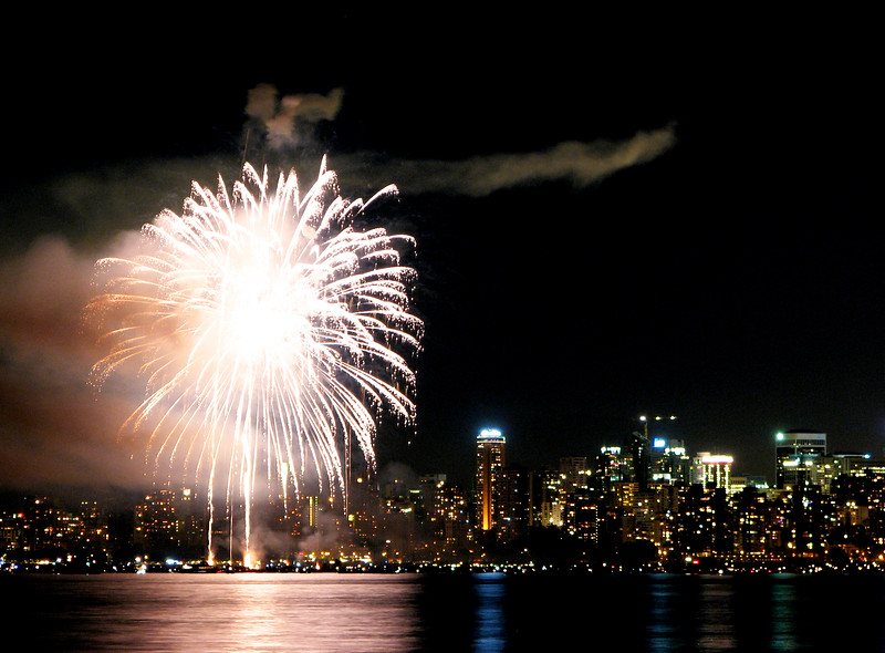 Firewoks Over English Bay