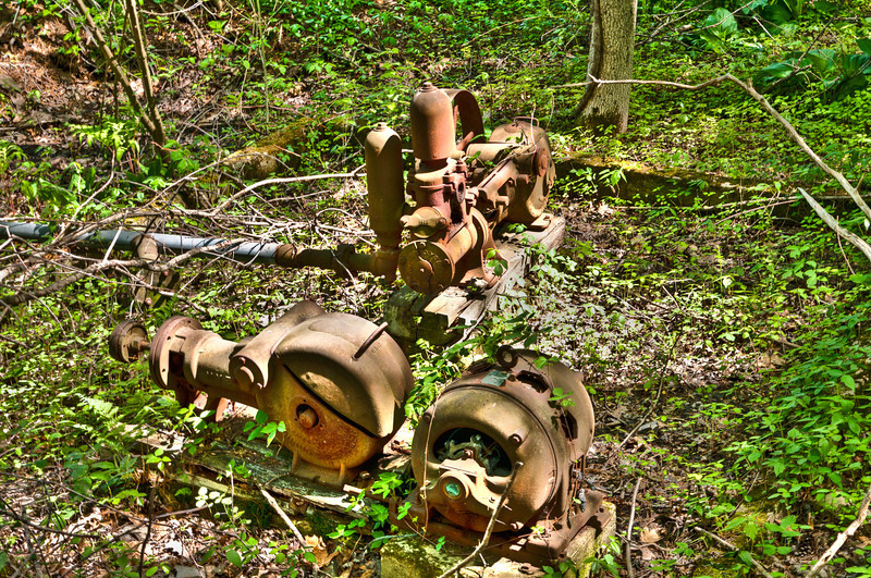Old Water Pumps