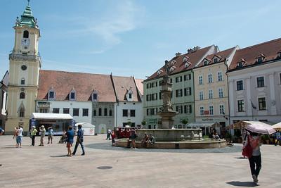 Old town Hall in Main Square, Bratislava
