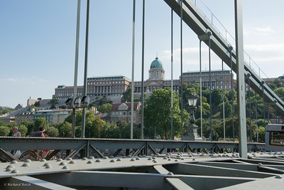 Chain Bridge crossing the Danube