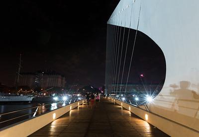 """Puente de la Mujer or """"Women's Bridge"""""""