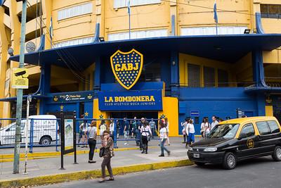 Famous Boca Juniors Stadium