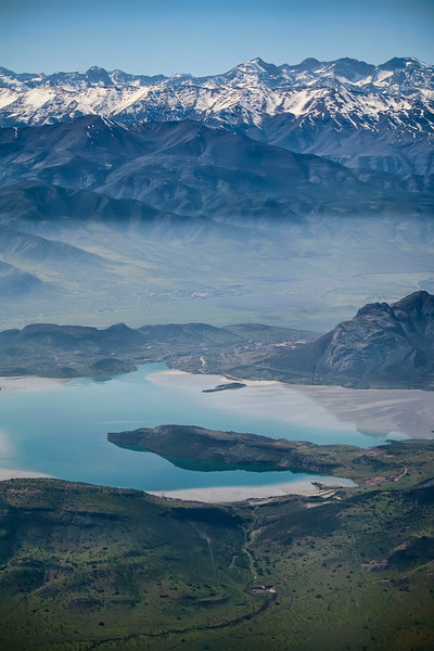 Lake by the Andes