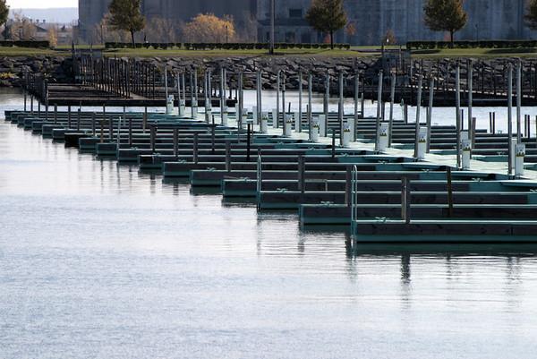More empty docks.