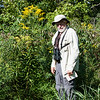 08/31/13,  Goldenrod taller than Larry Rosche!