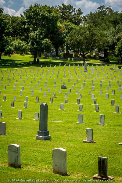 State Cemetery's Confederate Field