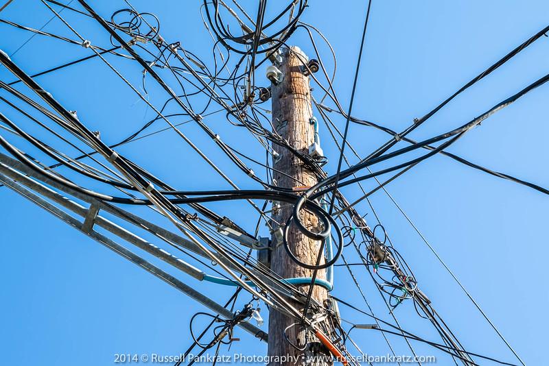 City of Austin Utilities' pole.