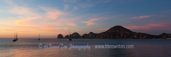 Panoramic of Land's End