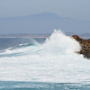 Pacific Grove wave action.