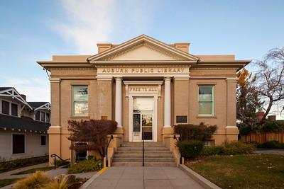 Carnagie Library Building, Auburn, California