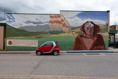 American Indian Mural, Quincy, CA